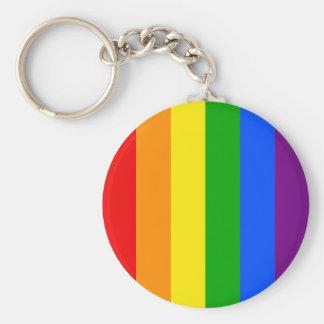 """""""縦の虹縞で飾ります""""は キーホルダー"""