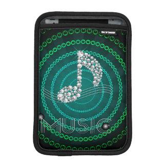 縦ダイヤモンド音楽ノートのIpadの小型袖 iPad Miniスリーブ