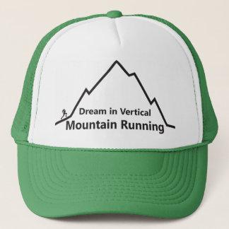 縦山の連続したトラック運転手の帽子の夢 キャップ