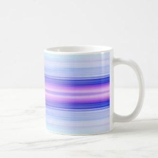 縦色のストライプ コーヒーマグカップ