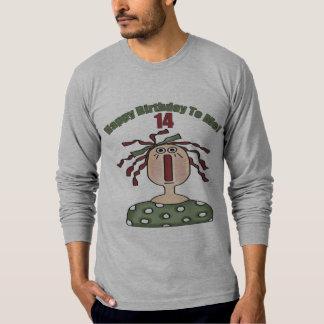 縫いぐるみ人形の第14誕生日プレゼント Tシャツ