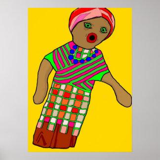 縫いぐるみ人形ポスタープリント ポスター