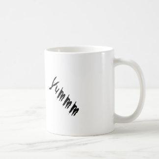 縮められたヘッドデザイン コーヒーマグカップ