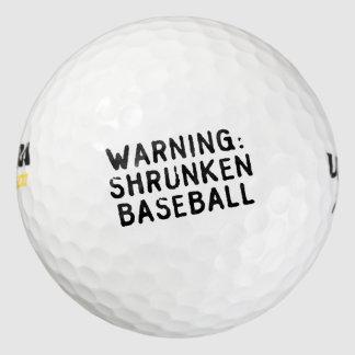 """""""縮められた野球""""のゴルフ・ボール ゴルフボール"""