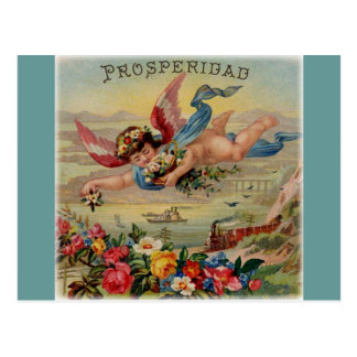 繁栄の天使(prosperidad)の郵便はがき ポストカード