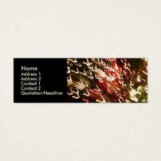 繊維光学のおもしろい- 02 スキニー名刺