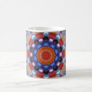 繊維光学のビーズのマグ コーヒーマグカップ
