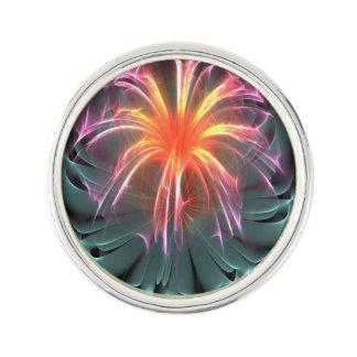 繊維光学の花 ラペルピン