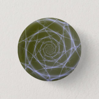 繊維光学スープボタン 3.2CM 丸型バッジ