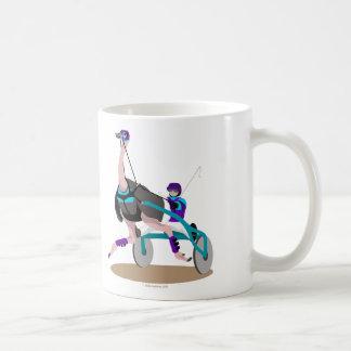繋駕競走のだちょう コーヒーマグカップ