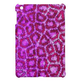 織られるショッキングピンクのチータ iPad MINI CASE