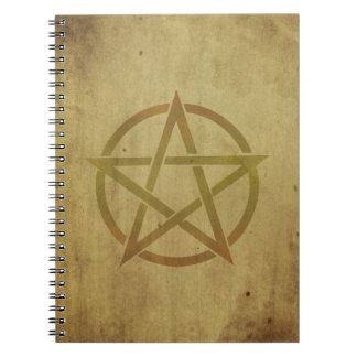 織られる五芒星 ノートブック