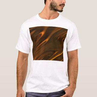 織られる熱い溶かされた液体チョコレート Tシャツ