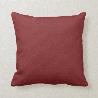 織られるCalienteの赤 クッション