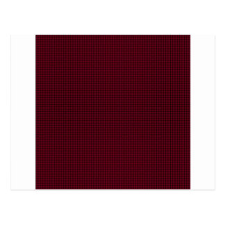 織り方-バーガンディ ポストカード