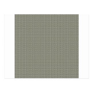 織り方-ベージュ色 ポストカード