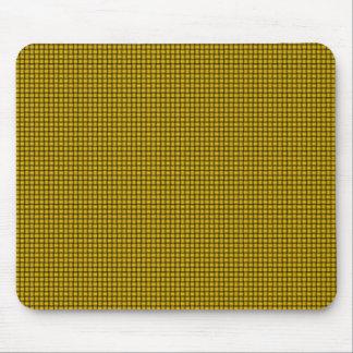 織り方-蜜柑の黄色 マウスパッド
