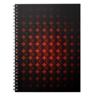 織り目加工のノート(80ページB&W) ノートブック