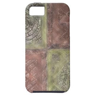 織り目加工の正方形 iPhone SE/5/5s ケース