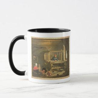 織工1656年の研修会(キャンバスの油) マグカップ