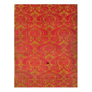 織物の片、第14または15世紀 ポストカード