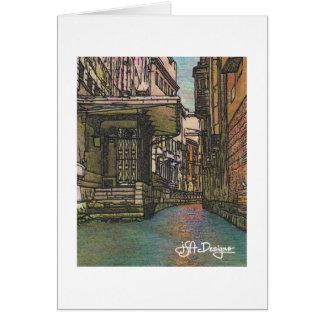 織物の芸術ベニスNotecard カード