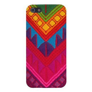 織物のIphoneマヤの民族のカラフルな5の箱 iPhone 5 Cover