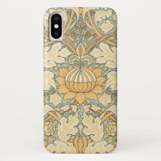 織物パターン、ウィリアム・モリス著セントジェームズ iPhone X ケース