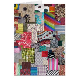 織物 カード