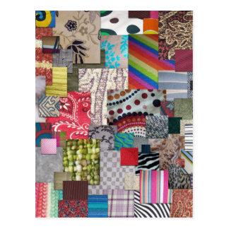 織物 ポストカード