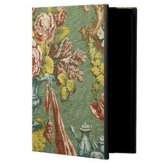 繰り返す花のモチーフの織物 iPad AIRケース