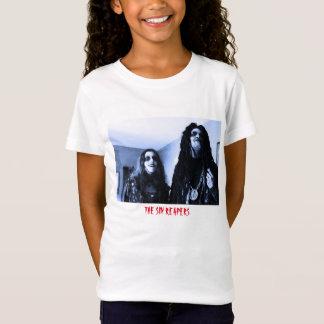 罪の収穫者は収穫者か背部文字のTシャツに会います Tシャツ