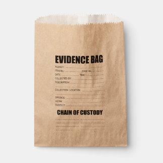 罪の証拠のバッグ フェイバーバッグ