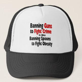 罪を戦うために銃を禁止します… キャップ