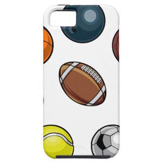 置かれるスポーツの球 iPhone SE/5/5s ケース