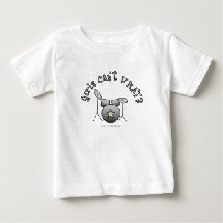 置かれるドラム-銀 ベビーTシャツ