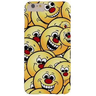 置かれるGrumpeysの幸せなスマイリーフェイス Barely There iPhone 6 Plus ケース