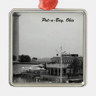 置n湾Keyesかペリー記念碑の写真のオーナメント メタルオーナメント