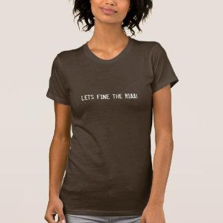 罰金をRIAA許可します! Tシャツ