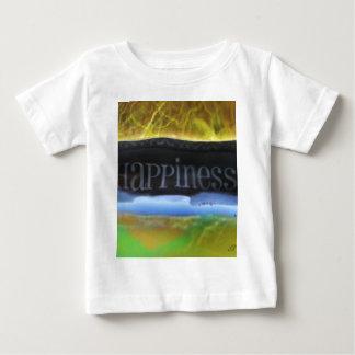 署名するDistoritedの幸福 ベビーTシャツ