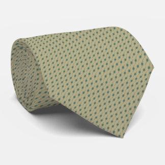 署名のターコイズのマイクロドット・パターンのネクタイ ネクタイ