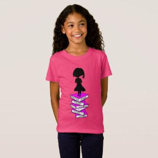 署名の小さな女の子のティーを克服して下さい Tシャツ