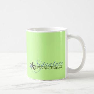 署名ライン コーヒーマグカップ