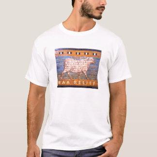 羊の鳴き声のレリーフ、浮き彫りのTシャツ Tシャツ