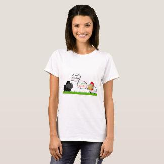 羊の鳴き声の詐欺-フリースNavidad Tシャツ