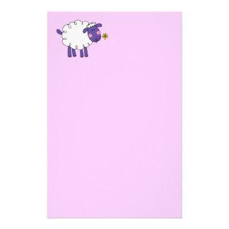 羊毛質のヒツジ 便箋