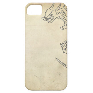 羊皮紙のドラゴン iPhone SE/5/5s ケース