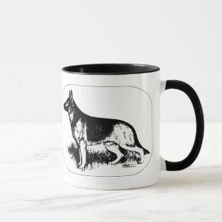 羊飼いのプロフィール マグカップ