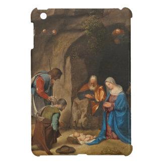 羊飼いの崇敬、1505-10年 iPad MINIケース