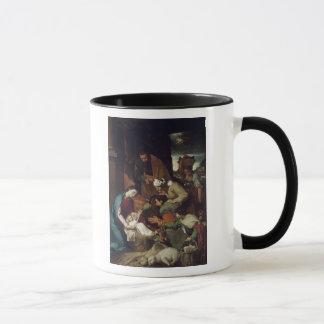 羊飼いの崇敬、1630年 マグカップ
